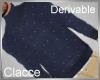 C derv sweater blue