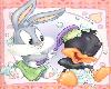 daffy and bugs sticker