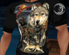 Native Wolf Tshirt