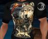 Native Wolf Tshirt