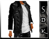 #SDK# Dark Jacket White
