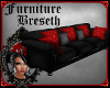 BS*MV BlackRed Couch