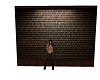 Brick free standing wall