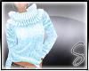 [Sev] Knit Sweater Blue