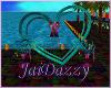 [JD] Rainbow Heart Stand