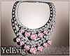 [Y] Necklace pink