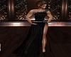 Black Paricia Gown