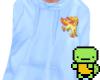 P.| Baby blue hoodie <3