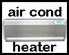 MAU/WALL AIR COND/ HEAT
