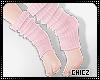 Cz!Pink Socks