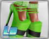 Rozy Heels\green