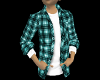 FLANNEL STYLZ TEAL