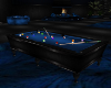 Blue Harley Pool Table