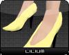 L* Yellow Siren Shoes