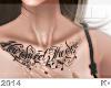 "K"" in chest tattoo 2"