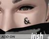 """- Face Tattoo - Iri  """"&"""""""