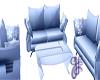 GF-Blue Mist Couch Set