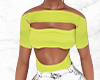 Neon Cut Out Top