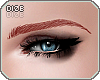 ! Thick Eyebrowns Red