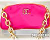 [DJ] Gia Pink Handbag