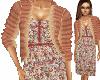 Floral Jacket Dress #1