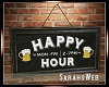 Cahoots Happy Hour Art