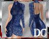 DC* RLL AZUL DRESS