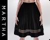 (Midi Leather Skirt)