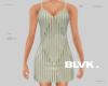 B.alma slip dress olive
