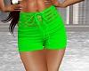 Sexy Spring Green Shorts