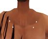 dimond clavical piercing
