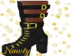 Black & Gold Boots