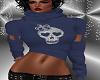 FG~ Skull Queen Top