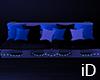 iD: Deep Blue Sofa
