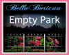 Night Empty Park