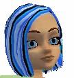BlueStripe Hair