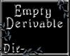 -Die- Empty male