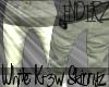 Marz White skinny jeans