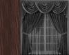 Window Curtain -- Black