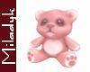 MLK Pink Teddy