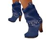 'Blue Cowgirl Boots