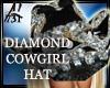 DIAMONDS COWGIRL HAT