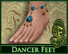Dancer Feet Topaz