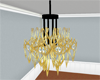 (IKY2) GOLD CHANDELIER