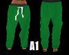 Stem PJ Bottoms Green