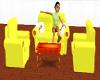 Tinkerbell Sofa Set