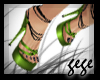 [GG]Strappy Heels Green