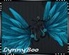 *Angel Teal Wings Anim