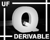 UF Derivable Letter Q