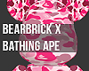Bearbrick: Bape PinkCamo